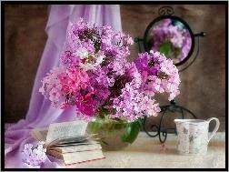 Kwiaty, Ośnieżona, Gałąź